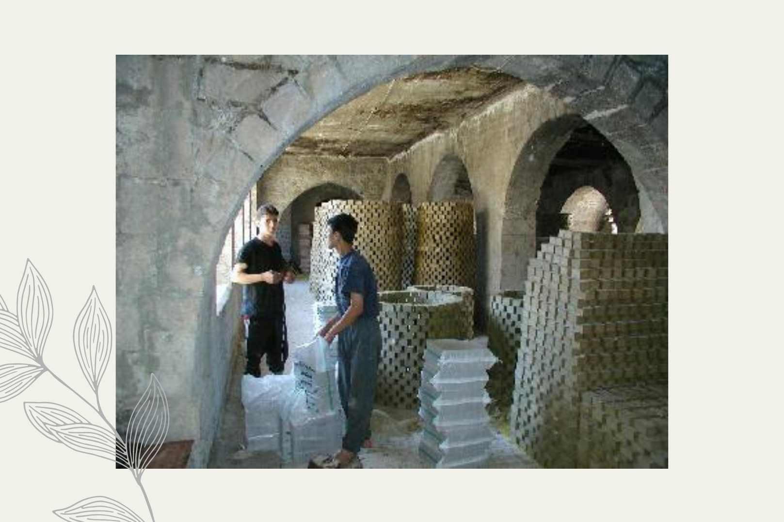 Zhenobya Alepposeife Seifenherstellung